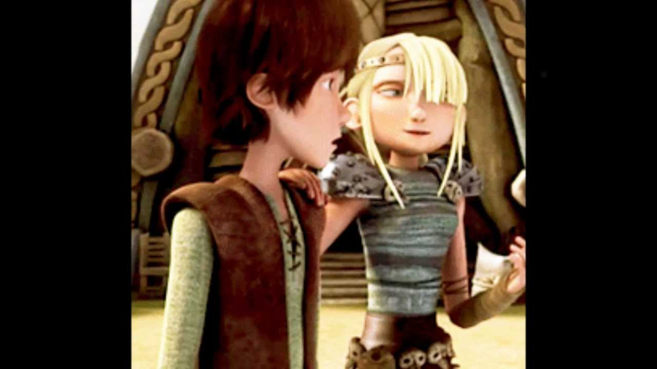 Astrid And Hiccup - Two Worlds Collide - YouTube