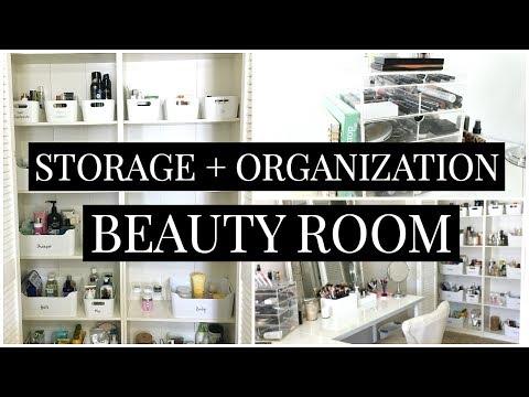 Beauty Room Storage + Organization | Kendra Atkins