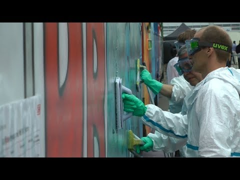 CMS 2017: DAS ANTI-GRAFFITI-TEAM VON DB SERVICES IN ACTION