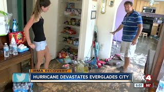 Everglades City residents desperate for help after Hurricane Irma ruins homes