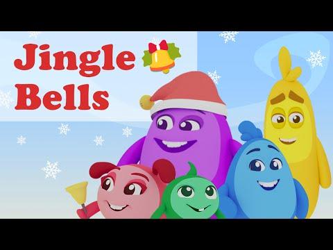 Jingle Bells   Christmas Song for kids   lyrics   nursery rhymes for children