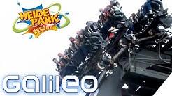 Achterbahn fahren mit Mundschutz! So setzt der Heide-Park Soltau die Corona-Auflagen um! | Galileo