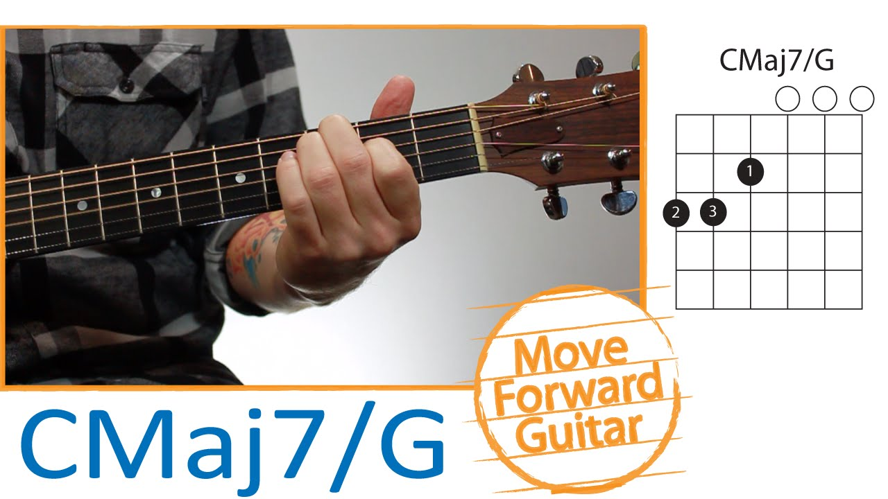 Guitar Chords For Beginners Cmaj7g Youtube