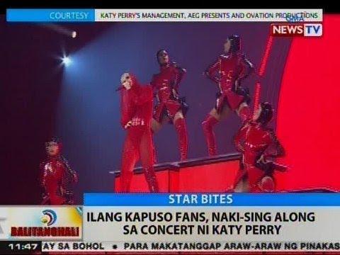 BT: Ilang Kapuso fans, naki-sing along sa concert ni Katy Perry