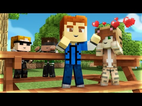 Minecraft Daycare - BABY PICNIC KISS  !?