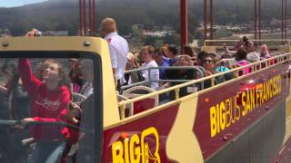 Big Bus Tours San Francisco - Open-Top Sightseeing Tour Video