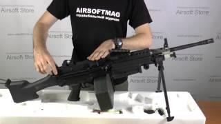 Обзор пулемёта (A&K) M249 MKII