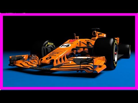 What a papaya orange 2018 mclaren-renault f1 car could look like By News Today