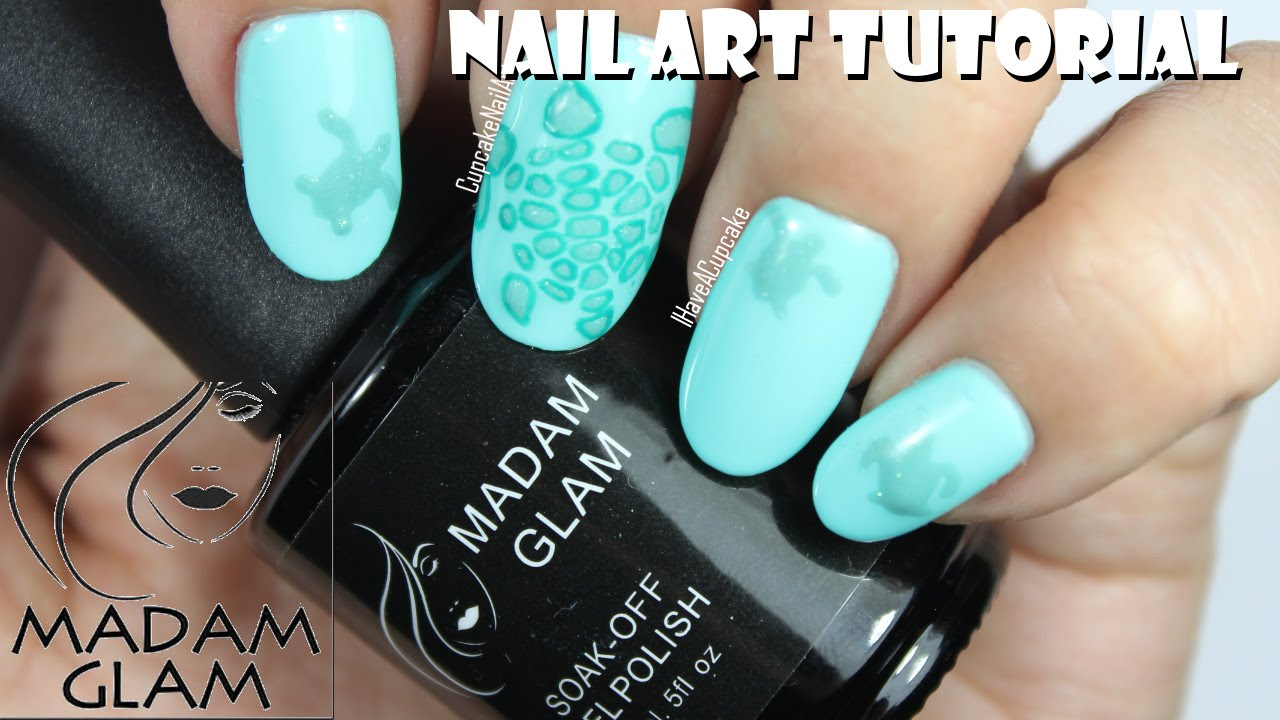 Madam glam nail art subtle sea turtle nails youtube prinsesfo Gallery