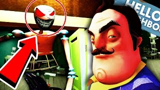 TOP 10 SECRETS You Missed in HELLO NEIGHBOR Alpha 1,2,3 and 4