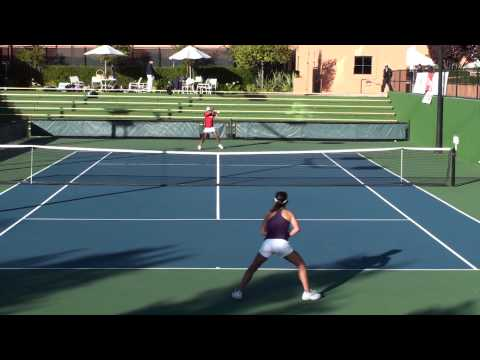 20091118 CIF CCS High School Girls Varsity Team Tennis Final Monta Vista vs Saratoga part 1 of 5