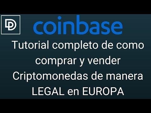 Coinbase - Tutorial Completo De Como Comprar Y Vender Criptomonedas De Manera LEGAL En EUROPA