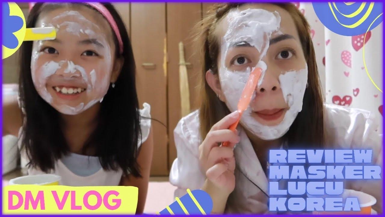 REVIEW MASKER KOREA LUCU|CERITA PAS WAKANA DAPAT HAID