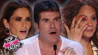 TOP 10 ICONIC Auditions Ever On Got Talent, American Idol and X Factor UK!