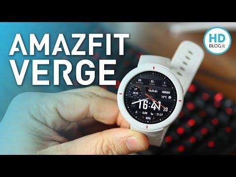 Recensione AMAZFIT VERGE, smartwatch completo e adatto a tutti