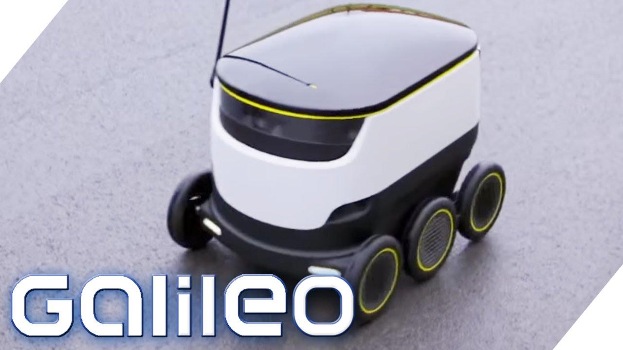 Der Lieferroboter der Zukunft | Galileo Lunch Break