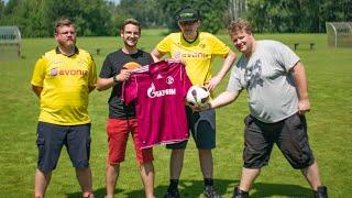 Wer muss das 400€ Schalke Trikot tragen?