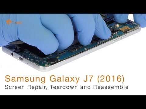 Samsung Galaxy J7 (2016) Screen Repair, Teardown and Reassemble - Fixez.com