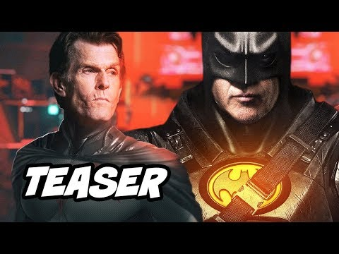 The Flash Batman Teaser - Crisis On Infinite Earths Easter Eggs Breakdown