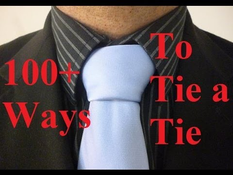 How to tie a tie triple windsor necktie knot youtube ccuart Choice Image