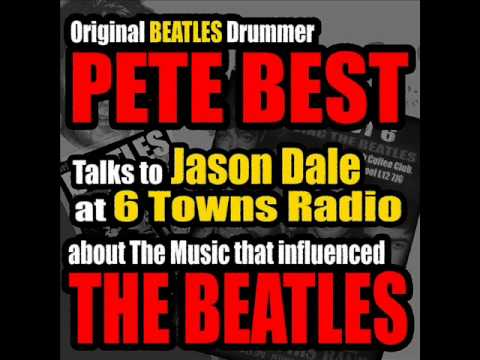 Pete Best (original drummer with The Beatles) on the Jason Dale Radio Show (6 Towns Radio 2014)