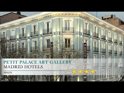 Petit Palace Art Gallery - Madrid Hotels, Spain