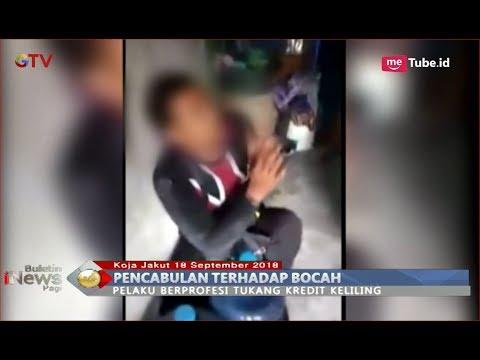 BEJAT! Tukang Kredit Keliling Cabuli Bocah di Kamar Mandi saat Rumah Sepi - BIP 19/09