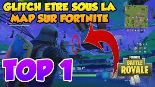 GLITCH FORTNITE ALLER UNDER THE MAP !!!