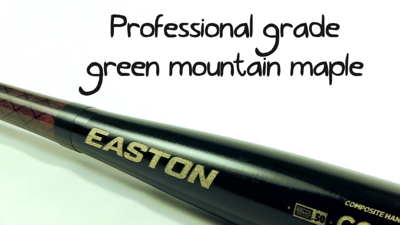Easton Maple Composite Wood BBCOR Bat: MC110 Adult
