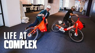 We Got New Electric Bikes! | #LIFEATCOMPLEX