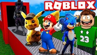 MY OWN MANUFACTURE OF VIDEO GAMES in ROBLOX !!