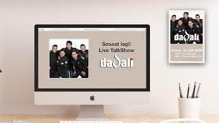 LiveTalkShow - New Release Dadali - CINTAKU SANGAT LUAR BIASA