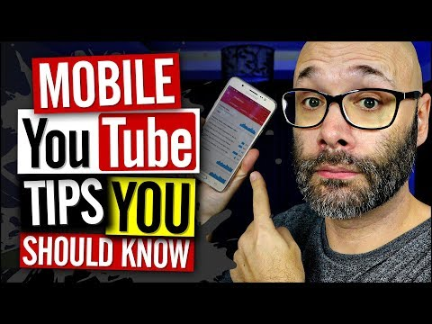 Mobile YouTube Channel Tips All YouTubers Need To Know