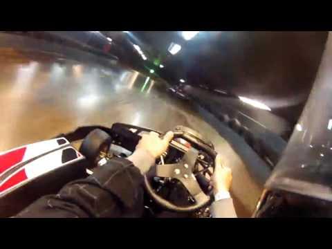 Diego Garcia Go Karting at TeamSport London Bridge
