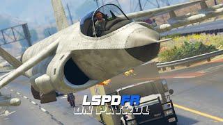 LSPDFR - On Patrol - Day 2 - Fighter Jet Patrol