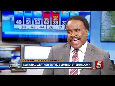 National Weather Service impacted by shutdown