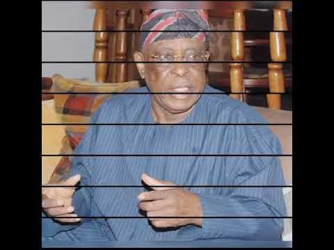 Greetings To Chief Osoba by Hon Ekundayo