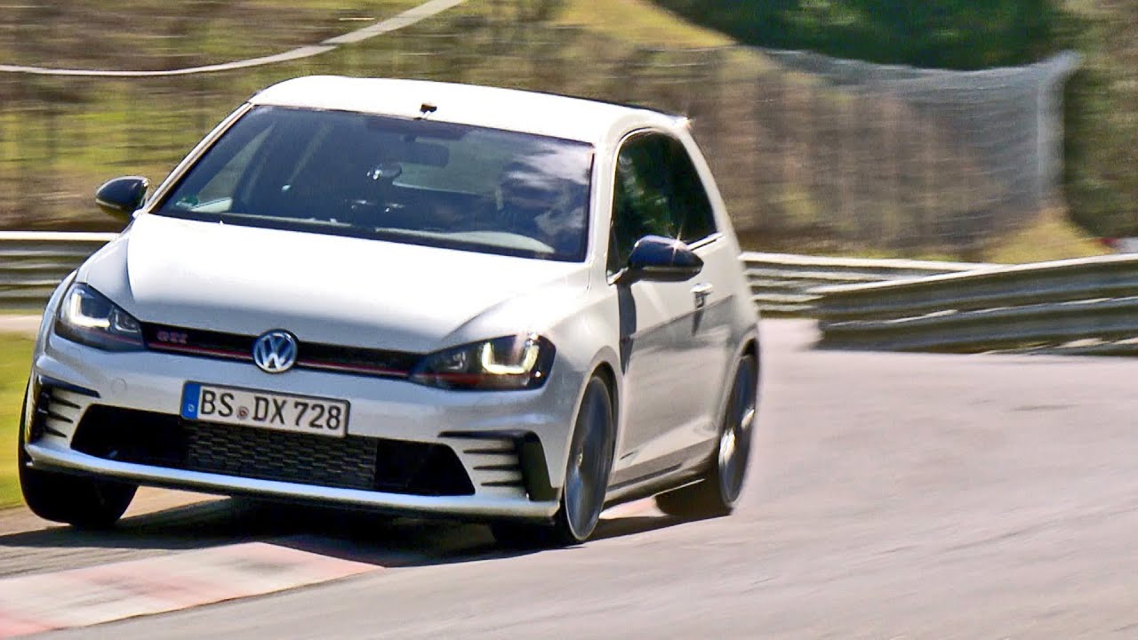 Gti Mk7 R >> Golf GTI Clubsport S on Track - Nürburgring - YouTube