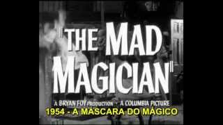 A Máscara do Mágico - Trailer Oficial legendado - VINCENT PRICE BR