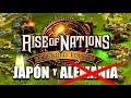RISE of NATIONS 2 VS 2: SEGUNDA GUERRA MUNDIAL ALTERNATIVA