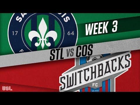 Saint Louis FC vs Colorado Springs Switchbacks FC: March 31, 2018