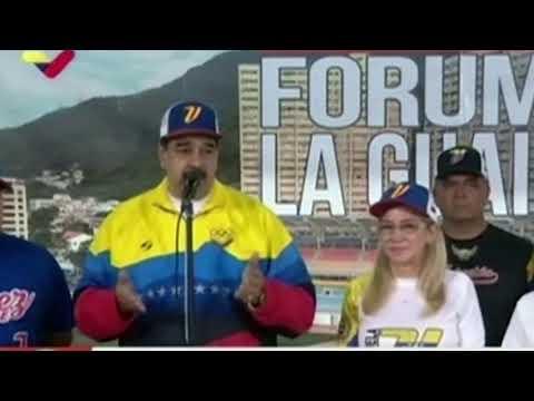 Nicolás Maduro calificó lo sucesos como una rebelión dentro de la AN