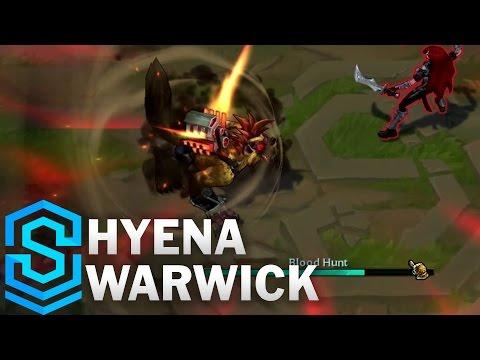 Hyena Warwick (2017) Skin Spotlight - League of Legends