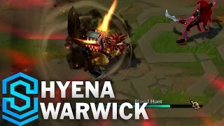 Hyena Warwick (2017) Skin Spotlight - League of Legends