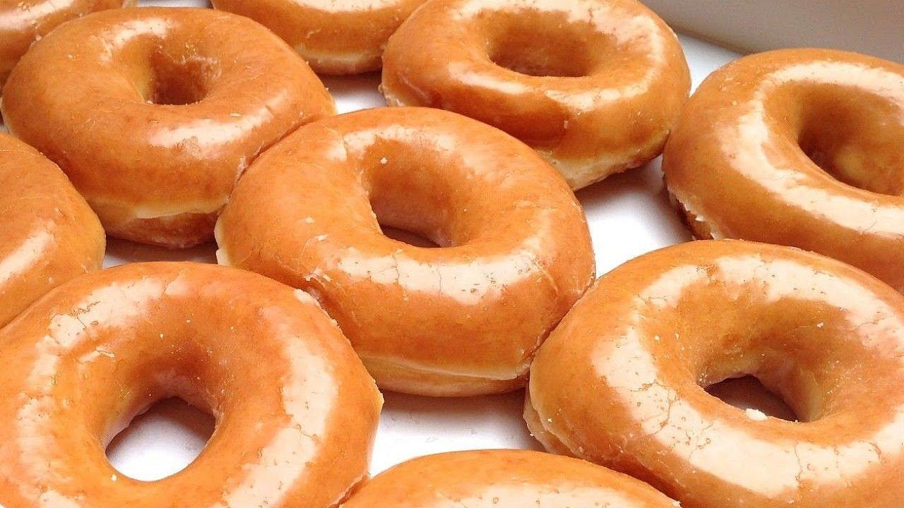 Homemade Glazed Doughnuts (Krispy Kreme glazed donuts) Best Donuts ...