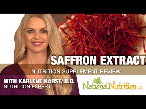 Saffron Extract National Nutrition Articles