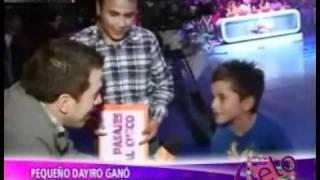 Dayiro Ganó competencia de baile junto a su Padre [A. Espectaculos 25/10/2011]
