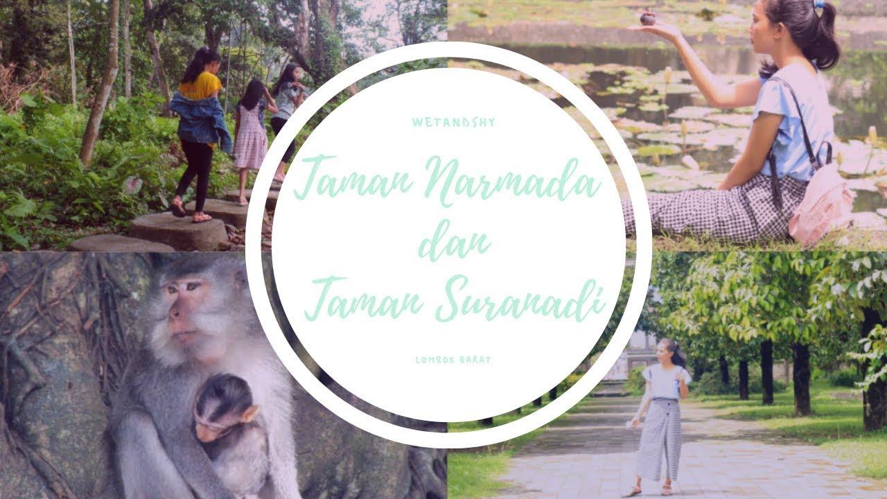 Videolombok4 Taman Wisata Alam Suranadi Taman Narmada