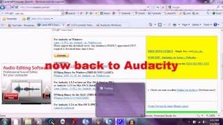 How to Install Audacity  { Tutorial }