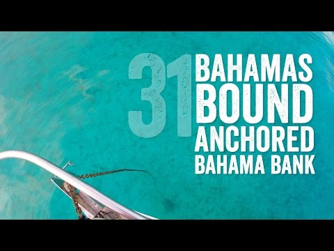 Bahamas Bound Anchored Bahama Bank in the Middle of the Ocean Escape 31